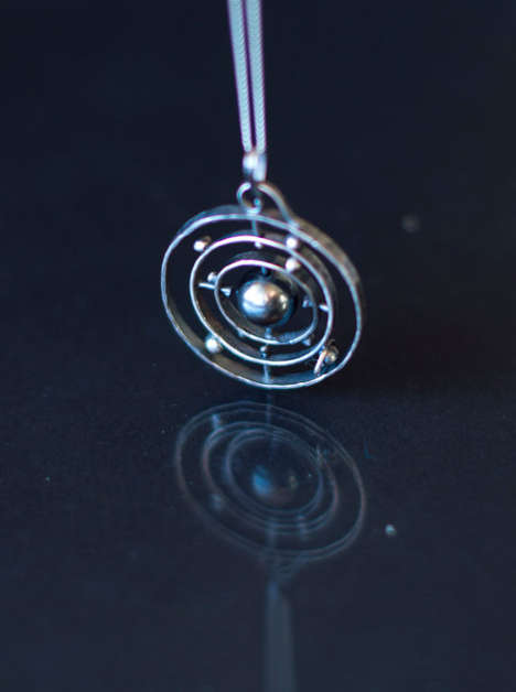 Ornate Astrological Necklaces - Learn Your Planets and Look Good with These Solar System Necklaces