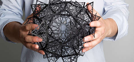 Elaborate Paper Sculptures - Artist Christine Kim Creates These Delicate Paper Sculptures