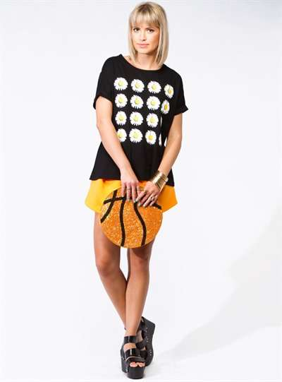 Basketball Enthusiast Accessories - The Barkley Clutch from House of Cards Celebrates Sporty Style
