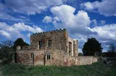 Modernized Historical Castles - The Astley Castle Was Renovated into a Private Residence