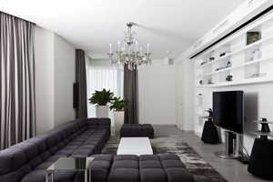 This Apartment in Mirax Park Combines Modern with Historic Styles