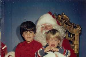 These Brothers Have Taken a Photo on Santa's Lap for 30 Years