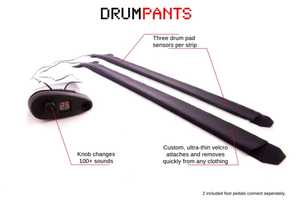 DrumPants is a Wearable Instrument You Can Play Anywhere