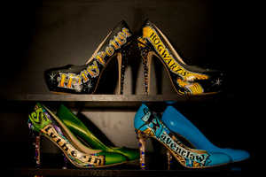 These Hand Painted Harry Potter Heels are a Fan's Dream
