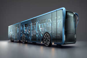 The Willie Bus Incorporates LCD Technology into Bus Advertisements
