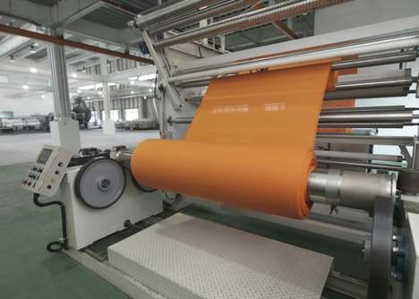 ColorDry Rids Chemicals and the Use of Water to Dye Fabrics