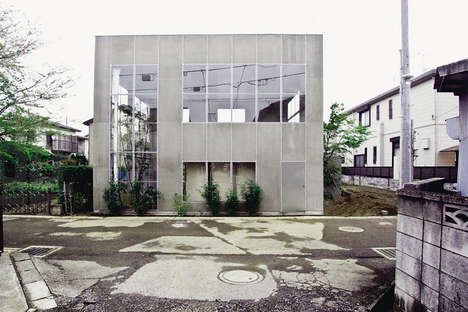 Forest-Inspired Urban Houses - This Tokyo Home is a Mix Between Landscape and Architecture