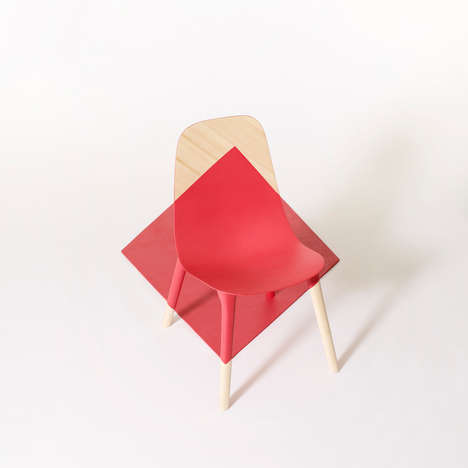 Optical Illusion Seating - Baby Pop by Paul Venaille is Bright and Contemporary