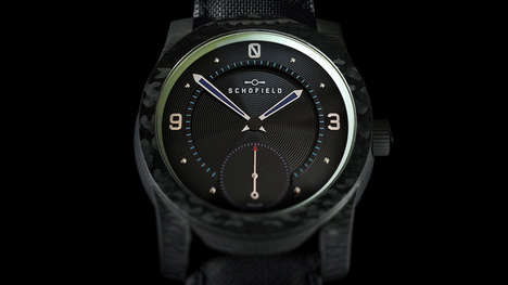 Long-Lasting Illuminating Timepieces - The NASA Moonglow Watch Has the Ability to Glow All Night