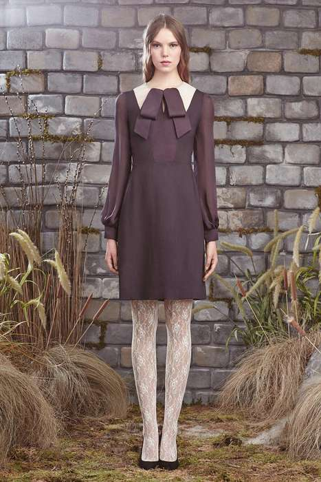 Andric Womenswear Collections - The Honor Pre Fall 2014 Collection Features Potent Womanswear