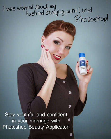 Intentionally Over-Edited Makeup Ads - Anna Hill Calls Out Photoshop in