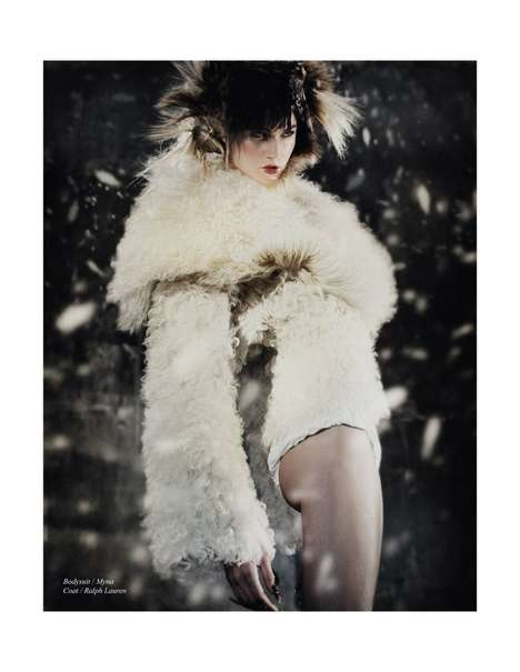 Fierce Snowing Editorials - The Schon Magazine