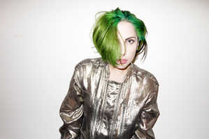 This Green-Haired Lady Gaga Will Get You in the Holiday Spirit