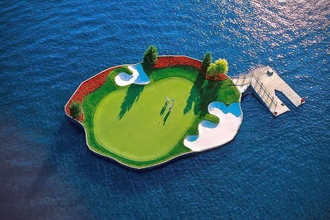 Floating 14th Hole