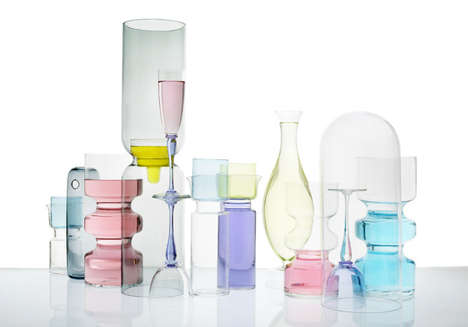 Gorgeous Glassware Photography - Ilona Habben Captures a Colorful and Translucent Material