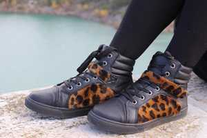 Add Animal Print to Any Pair of Sneakers with This Simple DIY Guide