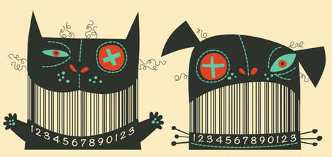 Illustrated Barcode Designs - Spice Up Your Packaging with a Clever Barcode Design
