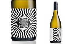 Hypnotic Beverage Branding - Bamboozle Wine Packaging Alludes to the Illusion of Infused Flavors