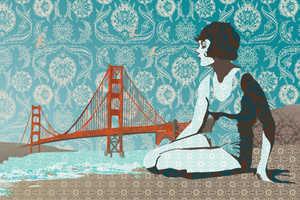 Fishkin Draws Retro Iconic Landmarks in San Francisco