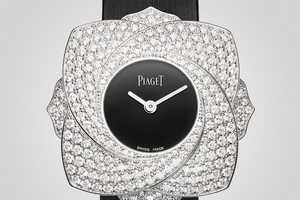 The Piaget Limelight Blooming Rose Timepiece is Garden Fresh
