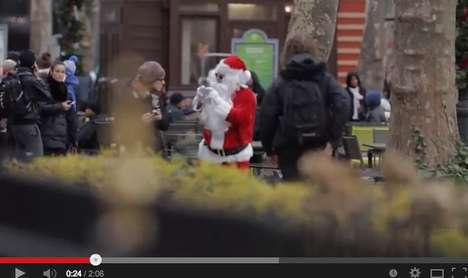 Anti-Surveillance Christmas Videos - The NSA Is Coming to Town is a Satire of the Christmas Classic
