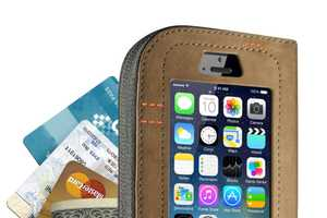The Cazlet is a Leather iPhone Wallet That is Multi-Functional