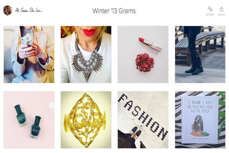 Social Media-Inspired Shops - The Online Startup 'Keep' Lets You Buy Items You See on Instagram