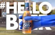 Bro-Inspired Beer Ads - These Carlton Beer Ads Show What Men Get Up to Together