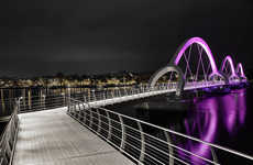 Illuminated Ephemeral Bridges