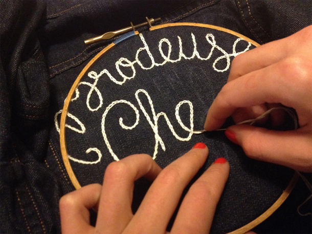 Custom Denim Embroidery Events