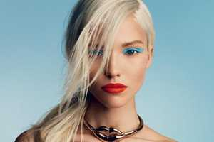Sasha Luss Stars in the Vogue Russia January 2014 Issue