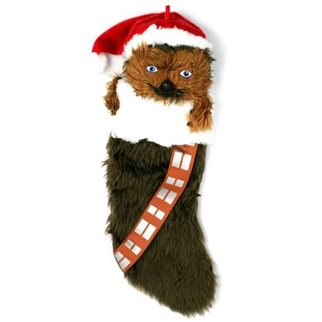 Furry Sci-Fi Stockings - The Chewbacca Stocking is Perfect for Any Dedicated Wookiee Fan