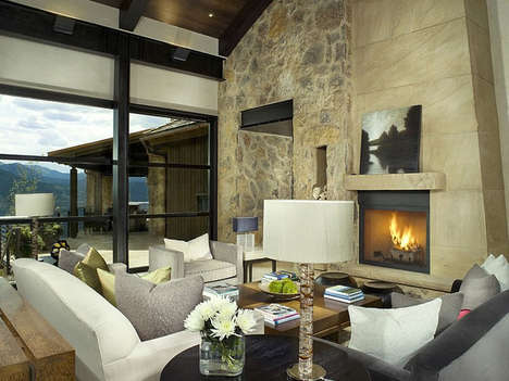 Luxurious Mountain Retreats - The Morning Star Residence is a Getaway Situated on Top of a Mountain