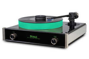 The McIntosh MT5 Turntable is the Pinnacle of Music Performance