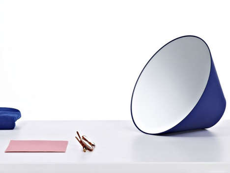Amplifier Looking Glasses - The Painting-Inspired Edvard Mirror Appears to Project Your Reflection