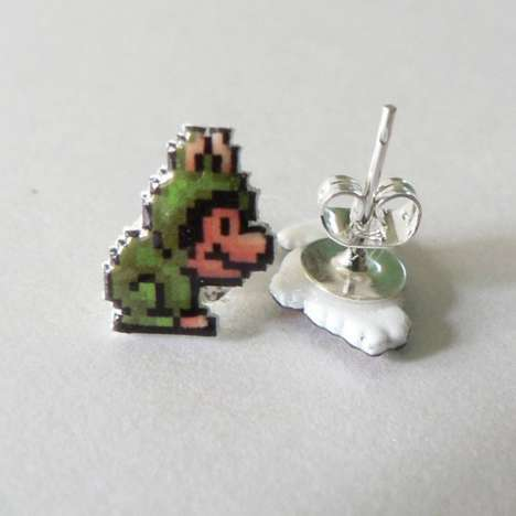 Geeky Gamer Studs - The Super Mario Earring Make Being Nerdy Look Good