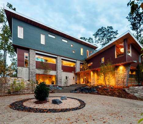 Cozy Self-Sustaining Homes - This Sustainable Home Design in Michegan Generates its Own Energy