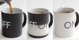 Light Switch-Themed Mugs - Turn Your Dishware On With the On-Off Coffee Mug