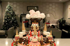Cartoon Gingerbread Kingdoms