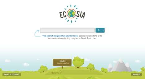 Tree Planting Search Sites - Ecosia is an Expanding, Socially Conscious, Green Search Engine