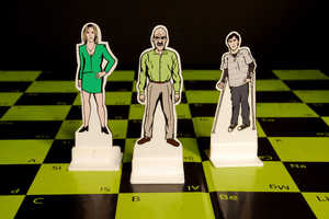 This Unique Chess Set is Based on the Characters of Breaking Bad