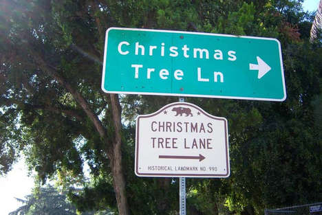 Historical Festive Evergreen Parks - Christmas Tree Lane is the Oldest Display in The World