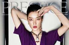 Elegant Jewel-Dripping Editorials