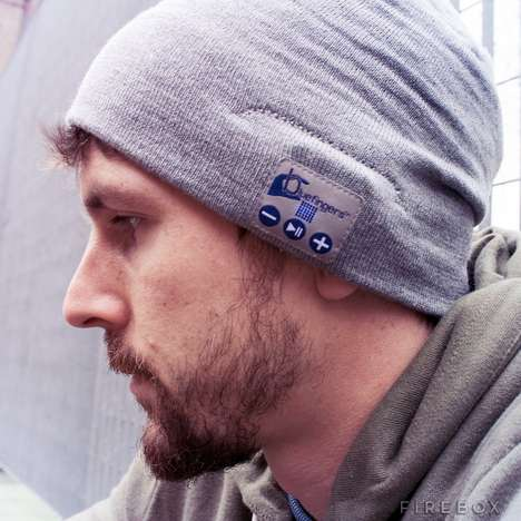Remote Toque Headsets - The Hands-Free Bluetooth Beanie Simplifies Listening in Cold Seasons