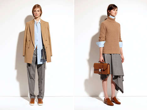Safari Country Club Collections - The Michael Kors Pre-Fall Collection Fuses the Safari and Golf