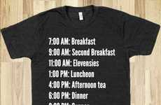This Lord of the Rings Shirt Will Help You Eat on a Hobbit's Schedule