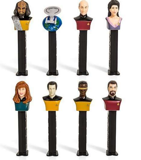 Galactic Candy Dispensers - This Star Trek Pez Set is Out of This World