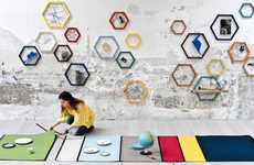 Interlocked Modular Rugs