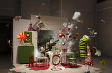 This Christmas IKEA Display Shows an Exciting Frozen Moment