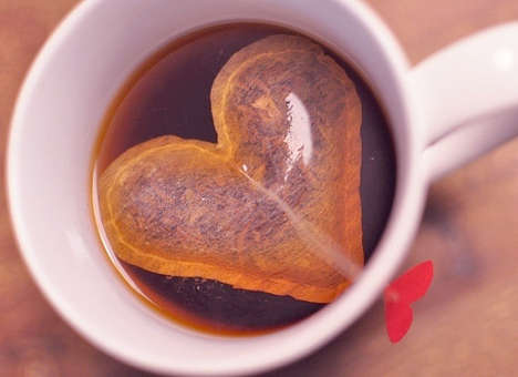 Lovingly Stitched Infusions - These Heart-Shaped Teabags Will Further Fill You With Warm Feelings